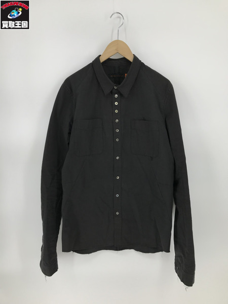 UNDERCOVER/06AW/butbeautiful期/刺繍シャツ/3/ブラック【中古】[▼]