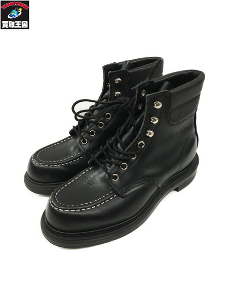 RED WING 8133 SuperSole 6 Moc-toe Black Chrome/モックトゥレザーブーツ【中古】