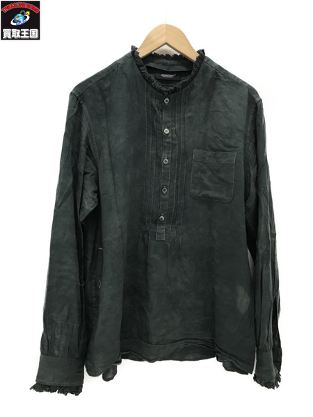 UNDERCOVER pleated detail shirt size2【中古】
