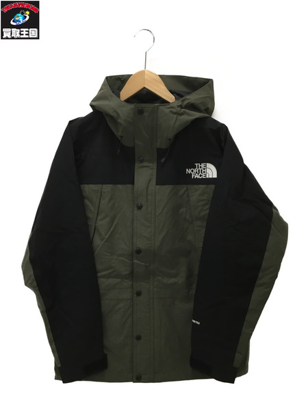THE NORTH FACE MOUNTAIN LIGHT JACKET M カーキ 【中古】