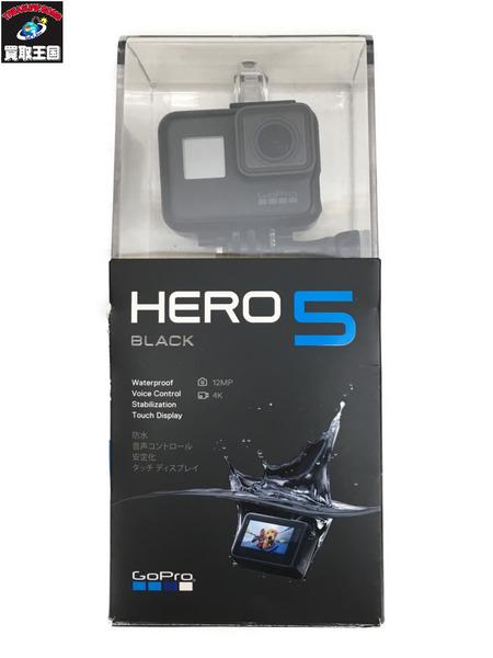 GoPro HERO5 ブラック asst1 デジタルビデオカメラ 【中古】