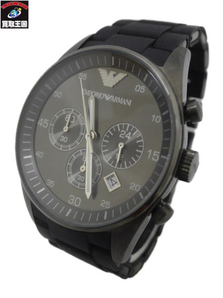 EMPORIO ARMANI エンポリオアルマーニ AR-5889 クロノグラフ クォーツ 腕時計【中古】