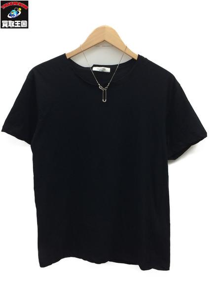 ヴァレンティノ 17AW ネクタイピン 半袖Tシャツ (S) ブラック 【中古】