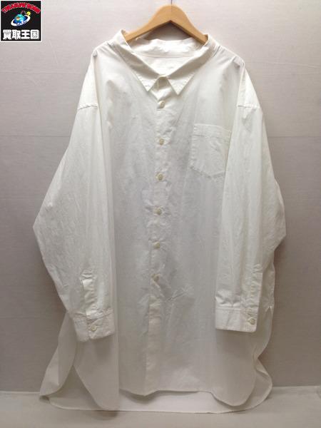 WhoWhat スーパービッグロングシャツ (-) ホワイト【中古】, バイオリンJP:9ff66712 --- 1stsegway.jp