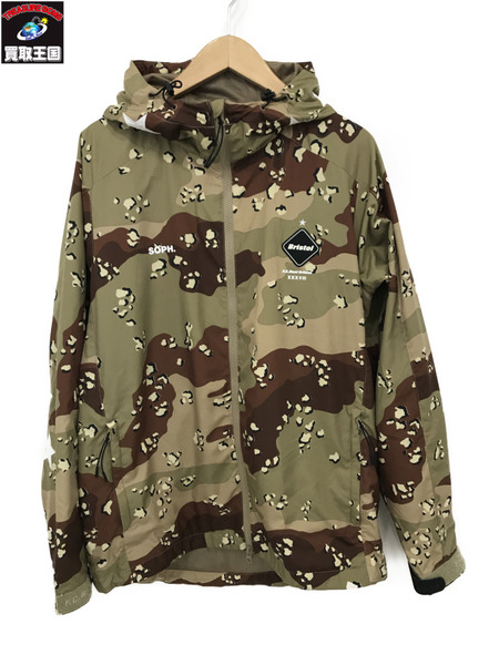 F.C.Real Bristol/17AW/CAMOUFLAGE PRACTICE JACKET/M【中古】