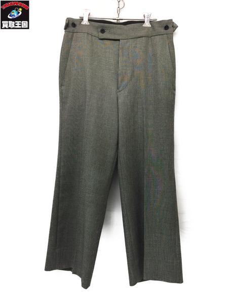 Needles 19SS Side Tab Trouser Poly Chambray Grey S EJ043 ニードルス サイドタブ トラウザーパンツ【中古】