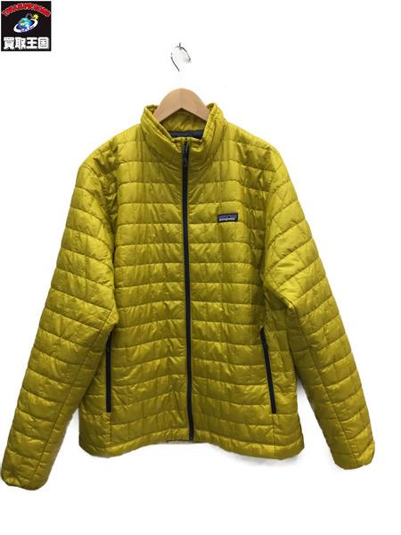 patagonia/パタゴニア/18AW/パフジャケット/L/黄色【中古】