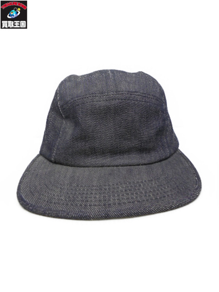 Supreme Solid Military Camp Cap デニム【中古】[値下]