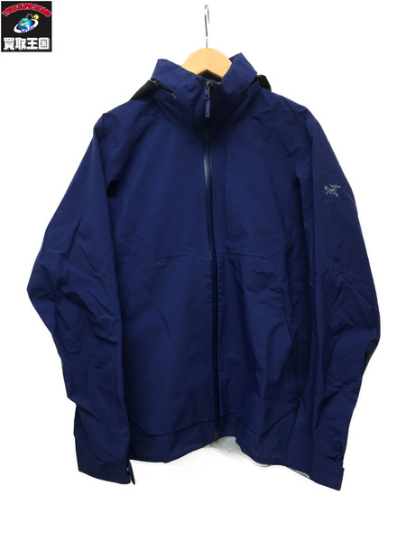 ARC'TERYX GORE-TEX INTERSTATE JACKET(S)ネイビー【中古】
