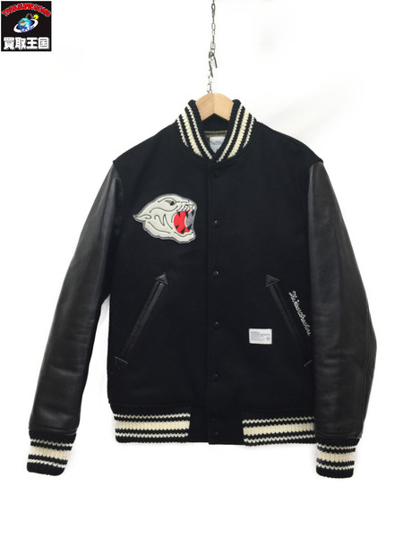 BEDWIN&THE HEARTBREAKERS 16AW AWARD JKT JERRY スタジャン BLK 【中古】
