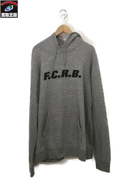 F.C.R.B./Bristol 19SS AUTHENTIC PULLOVER HOODY XL グレー【中古】