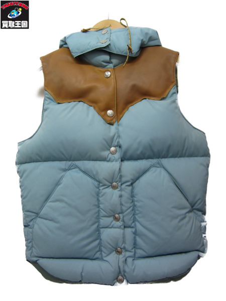 HYSTERIC GLAMOUR×rocky mountain featherbed ダウンベスト【中古】[▼]