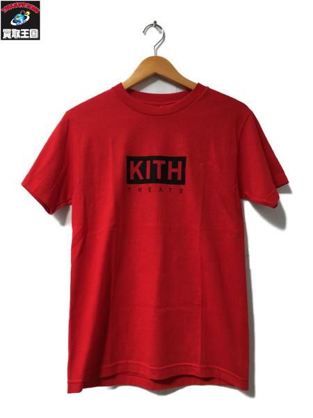 KITH TREATS 17aw ボックスロゴTシャツ 【中古】