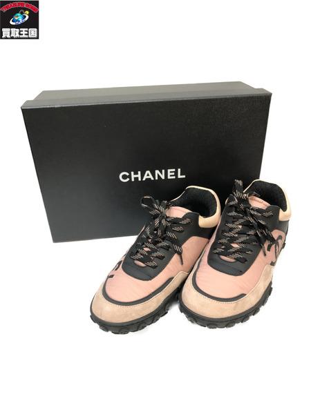 CHANEL/ココマーク スニーカー バイカラー G34086 Y51503 C0212 シャネル【中古】