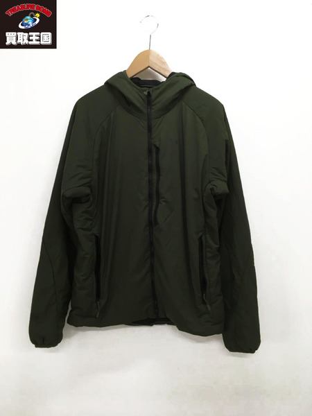 MOUNTAIN HARD WEAR Kor Strata Hoody (M) グリーン【中古】