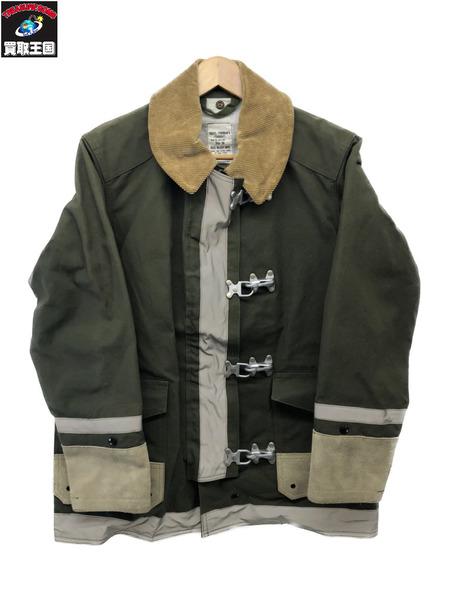 REAL McCOY ファイヤーマンジャケット COAT FIREMANS【36】【中古】[▼]