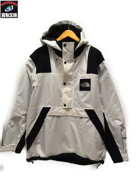 THE NORTH FACE GTX SHELL PULLOVER 白 L【中古】