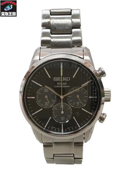 SEIKO V175-0BJ0 クロノグラフ 腕時計【中古】