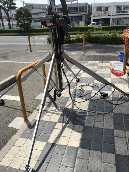 ASADA 電動ワイヤーアッパー UE-40C【中古】