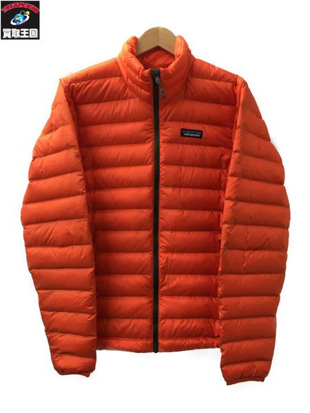 patagonia 84674FA16 Down Sweater オレンジ XS【中古】