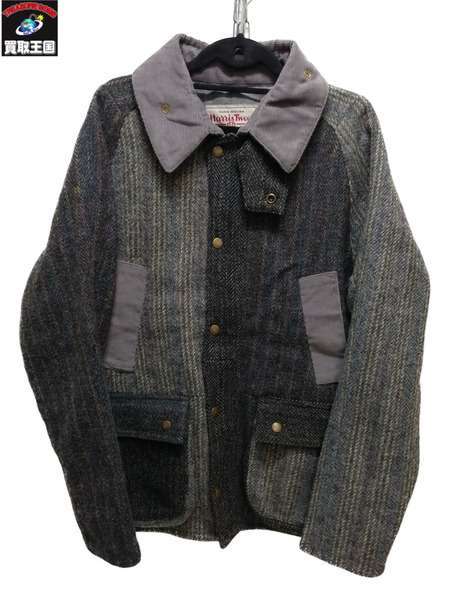 HARRIS TWEED×yoused Country Jacket/M【中古】[▼]