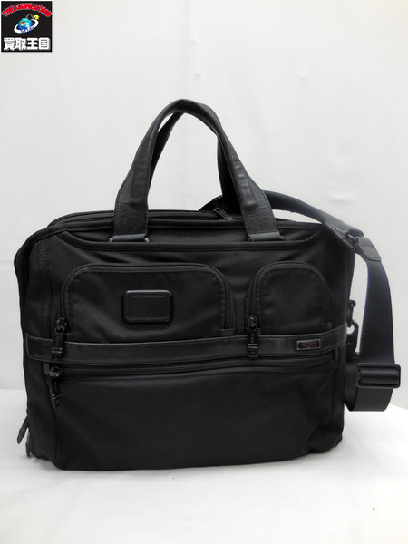 TUMI/トゥミ/T-PASS/26145/ブリーフブラック/ビジネスバッグ【中古】