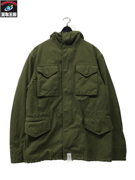 DESCENTE/17AW/BALBOA/SATIN JACKET/1【中古】[▼]