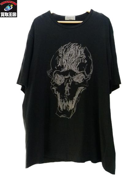 yohji yamamoto pour homme スカルTシャツ SIZE 3 17aw【中古】