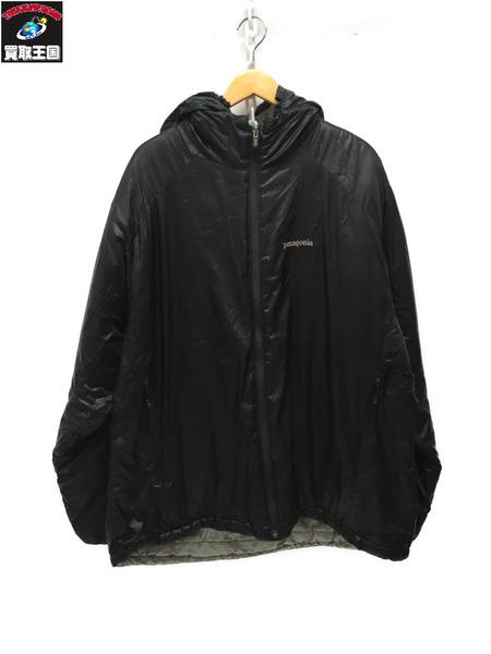 patagonia マイクロパフジャケット(L)黒【中古】