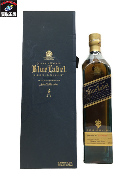 JOHNNIE WALKER/Blue Label/ウイスキー/750ml【中古】