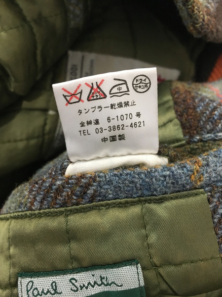 Paul Smith × Harris Tweed スタジャンdCorBeQWEx