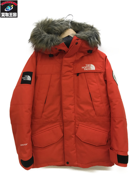 THE NORTH FACE アンタークティカパーカーND91707(S)オレンジ【中古】[▼]