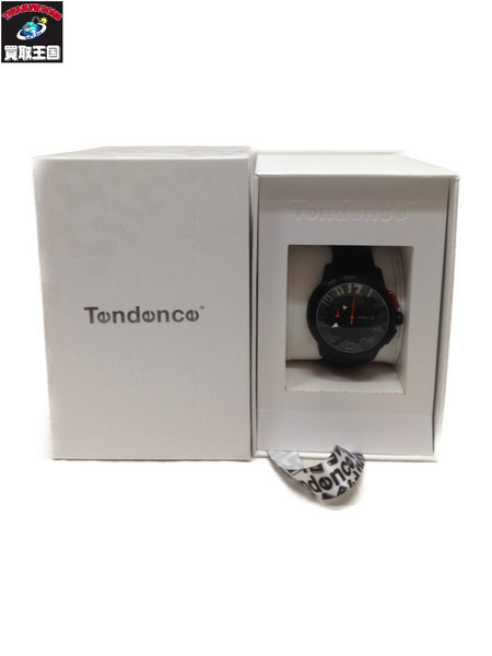 Tendence DOME クロノグラフ腕時計 ブラック【中古】