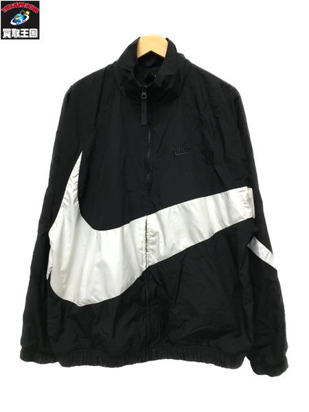 NIKE  HBR STMT WOVEN JACKET(XL)黒白【中古】