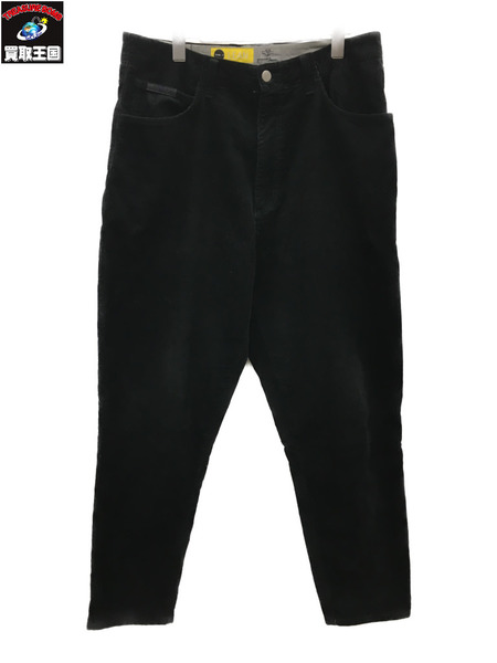 gourmet jeans グルメジーンズ TYPE-3 LEAN コーデュロイパンツ (34) 黒【中古】[▼]