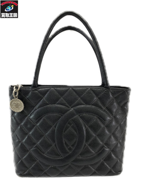 CHANEL/復刻トート/黒【中古】