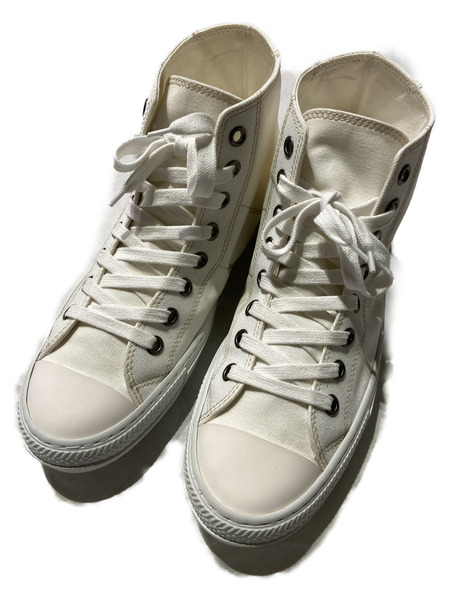 MAISON MARGIELA 22/Stereotype high top/41/ホワイト【中古】