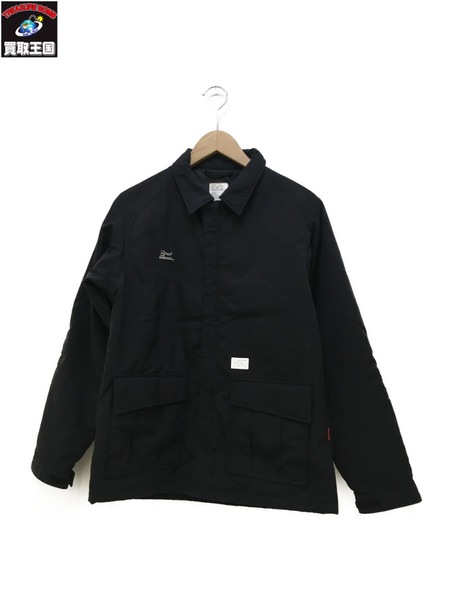 WTAPS CROSSBONE JUNGLE JACKET クロスボーンスカルプリントジャケット【中古】