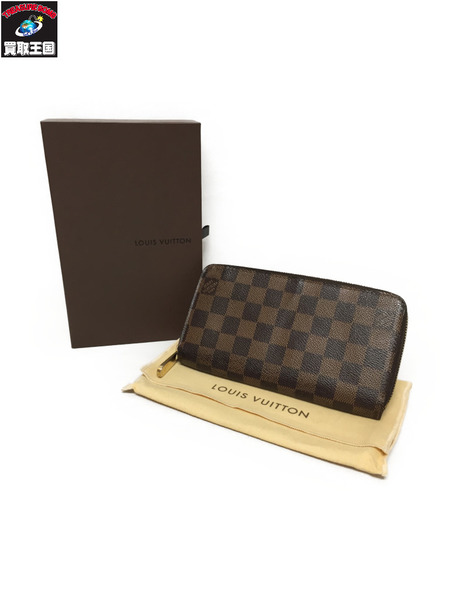 LOUIS VUITTON ジッピー・ウォレット ダミエ N60015【中古】