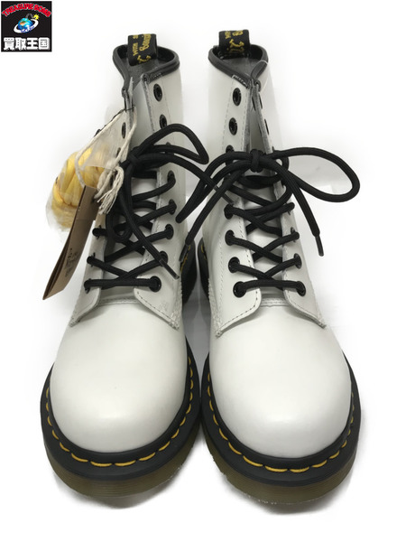 Dr.Martens ドクターマーチン 8ホール ブーツ【EU37/JP23】 白【中古】