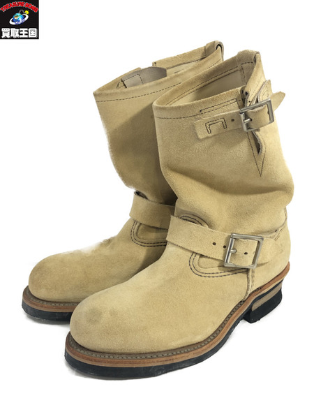 RED WING 8268 ENGINEER BOOTS ホーソーン アビレーン ラフアウト SIZE 6・2/1【中古】[▼]