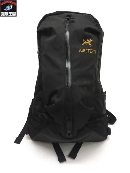 ARC'TERYX ARRO22 黒 バックパック アロー22【中古】