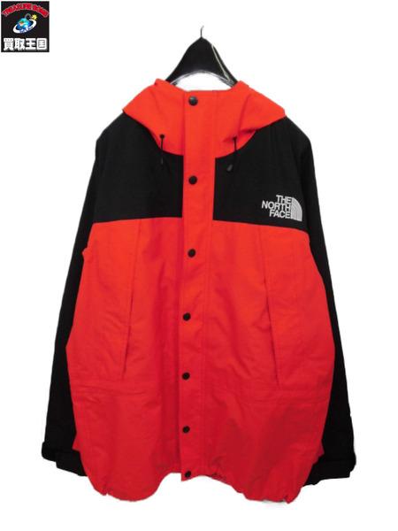 THE NORTH FACE ザノースフェイス Mountain Light Jacket/マウンテンライトジャケット L 赤【中古】