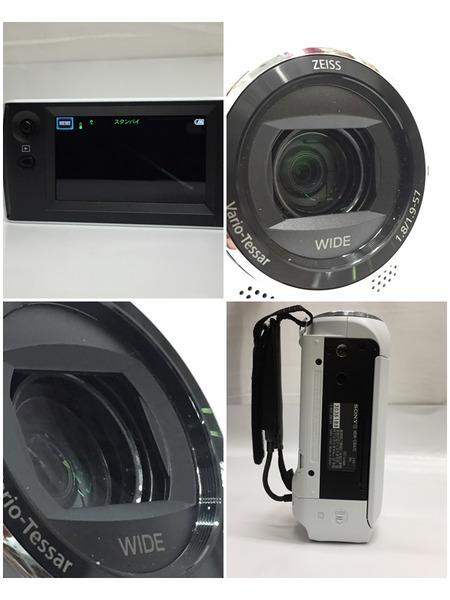 SONY デジタルHDビデオカメラレコーダー ハンディカム HDR-CX470 White 動作確認済み