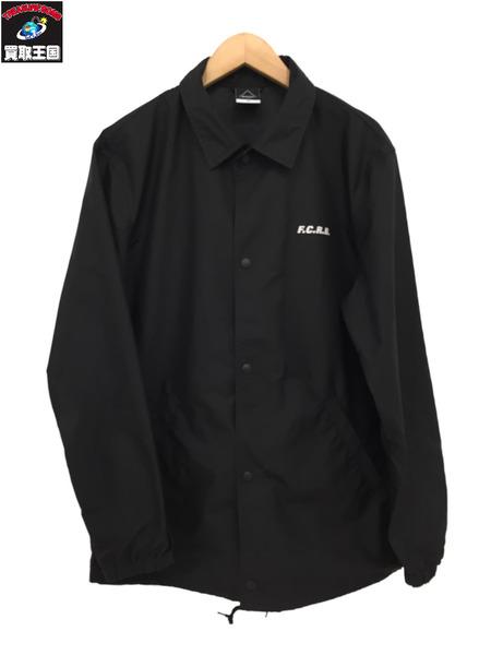 F.C.R.B. Coach Jacket BLACK 【中古】