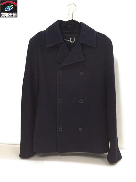 RAF SIMONS×FRED PERRY Pコート sizeXS【中古】[▼]