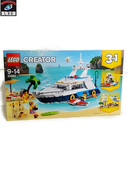 レゴ(LEGO)クリエイター アドベンチャークルーズ 31083【中古】