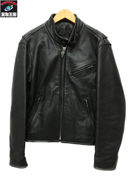 Harley-Davidson シングルライダース 黒(M)【中古】