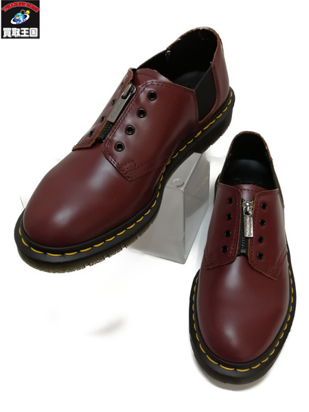 Dr.Martens/CORE 1461 GST OX BLOOD/フロントジップ/UK7【中古】