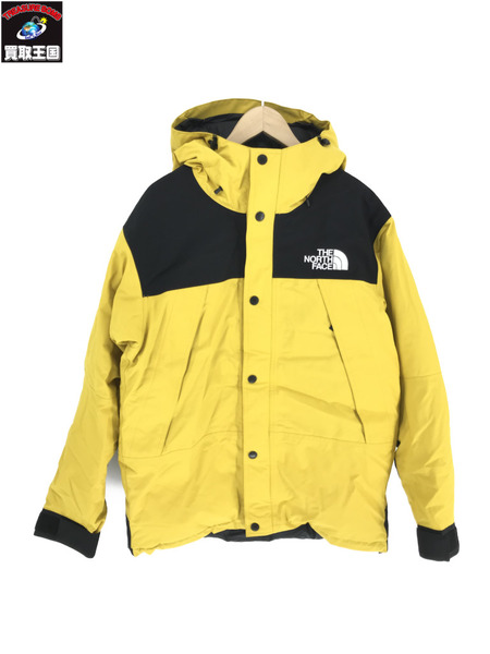 THE NORTH FACE GORE-TEX/MOUNTAIN DOWN JAKCKET/YELLOW(L)【中古】